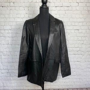 BCBG MAXAZRIA 100% Leather Jacket